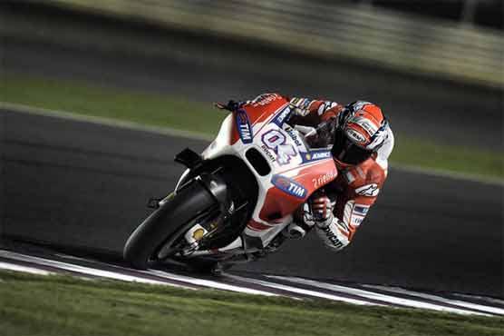 Andrea Dovizioso registered the quickest time in pre-season testing at Qatar's Losail circuit.