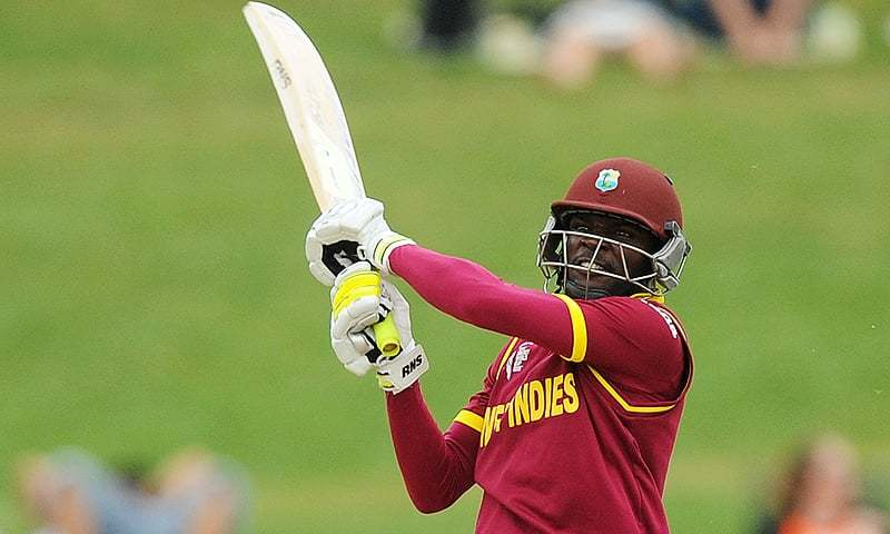 Jonathan Carter scored 50 off 58 balls to take West Indies home. — AP