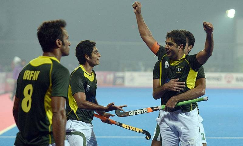 Pakistan hockey captain Mohammad Imran