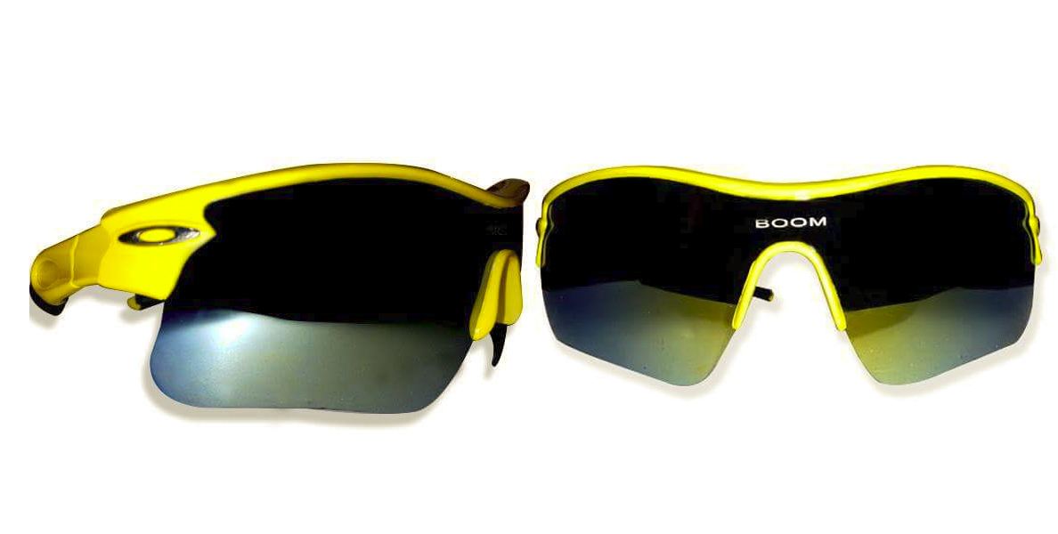 Boom boom afridi Sports GlassesYellow Frame