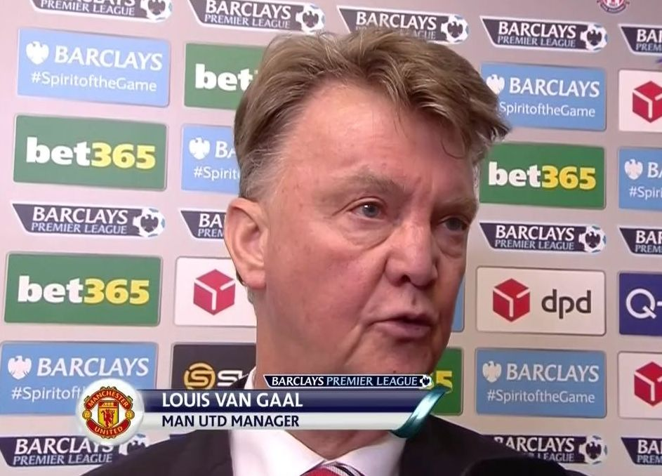 Louis van Gaal suggests he may quit as Man United lose to Stoke City