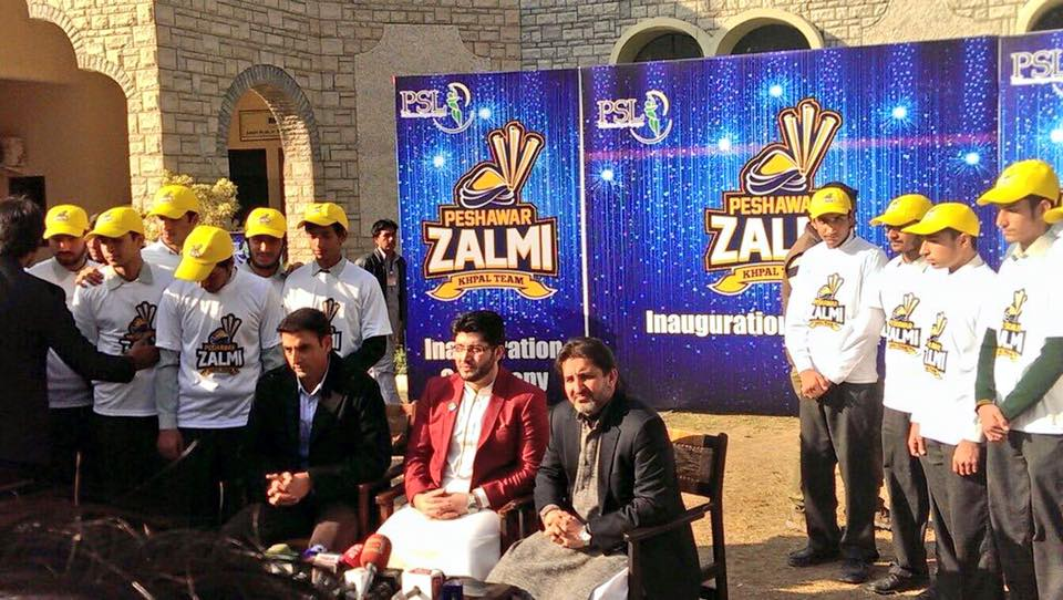 PSL Peshawar Zalmi Logo Launch PSLT20 psl pakistan super league 2016 2
