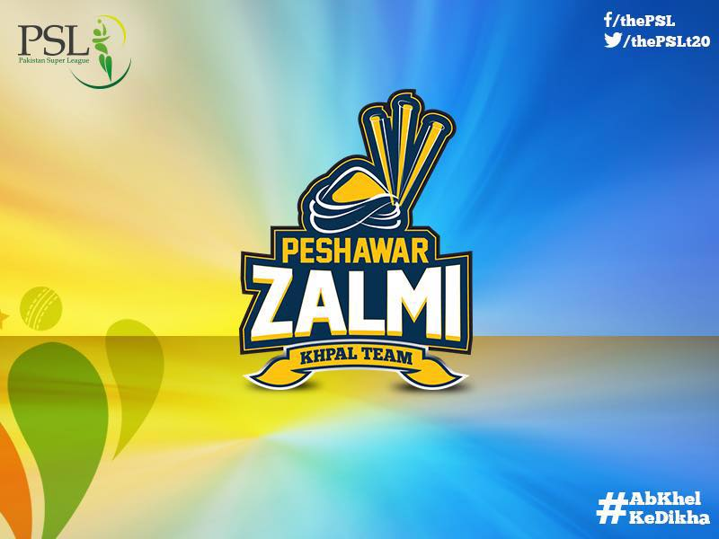 PSL Peshawar Zalmi Logo Launch PSLT20 psl pakistan super league 2016 3