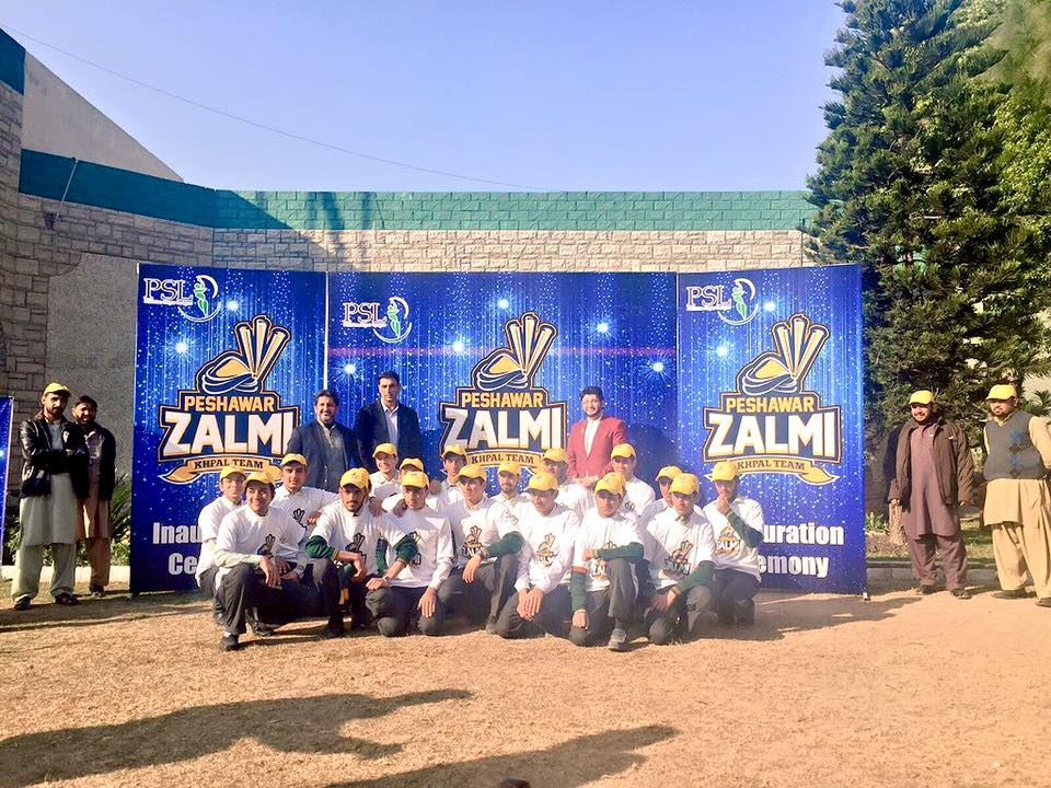 PSL Peshawar Zalmi Logo Launch PSLT20 psl pakistan super league 2016