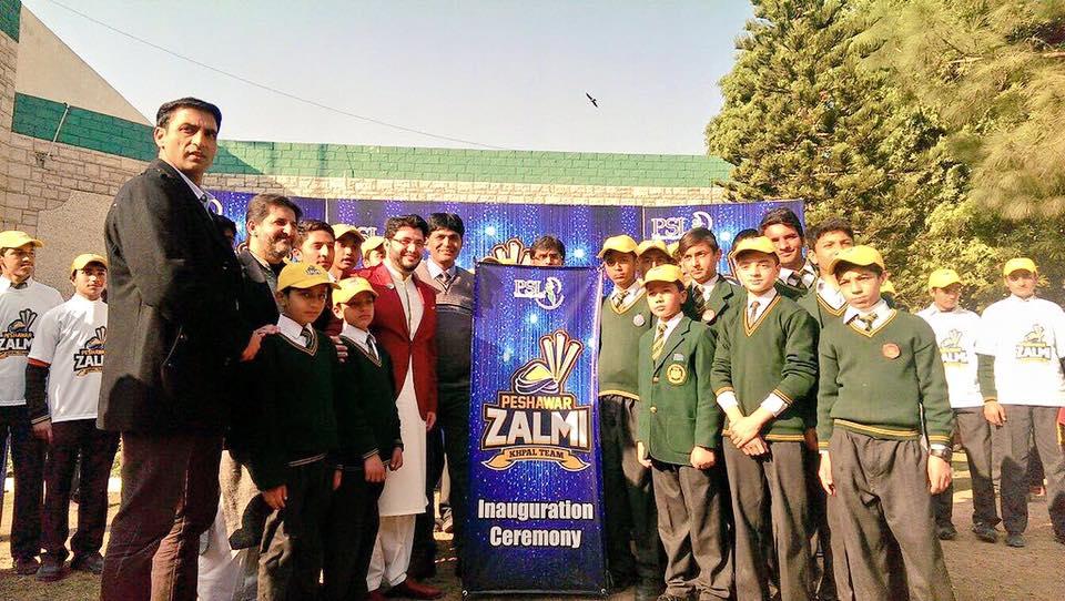 PSL Peshawar Zalmi Logo Launch PSLT20