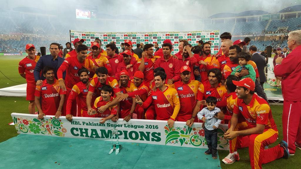 United won by 6 wickets Islamabad United to Pakistan Super League title