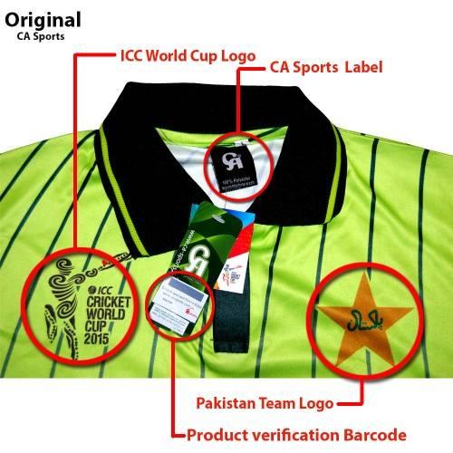 Original Pakistan Cricket Team T-Shirt 4