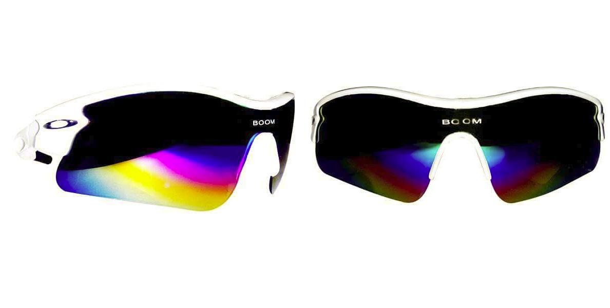 Boom boom afridi Sports GlassesWhite Frame