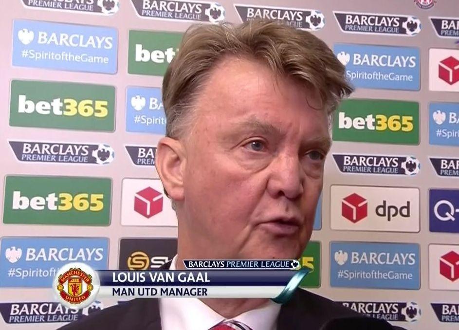 Louis van Gaal suggests he may quit as Man United lose to Stoke City